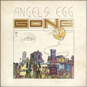 Click here for more info about 'Gong - Angels Egg - 1st Stickered Sleeve With Booklet'
