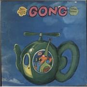 Gong Flying Teapot - 1st - VG/EX UK vinyl LP