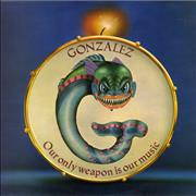 Click here for more info about 'Gonzalez - Our Only Weapon Is Our Music - Factory Sample'