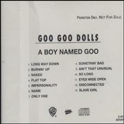 Click here for more info about 'Goo Goo Dolls - A Boy Named Goo'