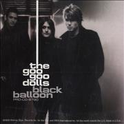 Goo Goo Dolls Black Balloon USA CD single Promo