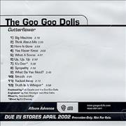 Click here for more info about 'Goo Goo Dolls - Gutterflower'