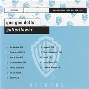 Goo Goo Dolls Gutterflower Germany CD album Promo