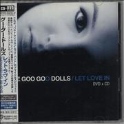 Goo Goo Dolls Let Love In Japan 2-disc CD/DVD set Promo