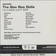 Click here for more info about 'Goo Goo Dolls - Live In Buffalo - July 4th 2004'