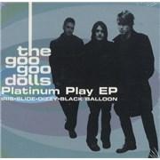 Goo Goo Dolls Platinum Play EP USA CD single Promo