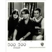 Goo Goo Dolls Superstar Car Wash USA press pack Promo