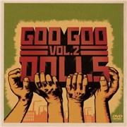 Goo Goo Dolls Volume 2 UK 2-disc CD/DVD set