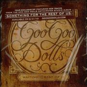 Goo Goo Dolls Waiting For The Rest Of It - Tour Exclusive EP - Sealed USA CD single