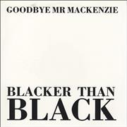 Click here for more info about 'Goodbye Mr. Mackenzie - Blacker Than Black - White Vinyl'
