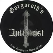 Gorgoroth Antichrist Germany picture disc LP