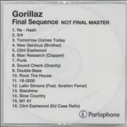 Click here for more info about 'Final Sequence - Not Final Master'