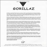 Click here for more info about 'Gorillaz - Gorillaz'