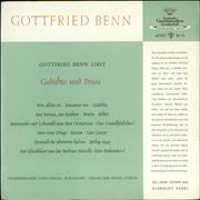 Click here for more info about 'Gottfried Benn - Gedichte und Prosa'