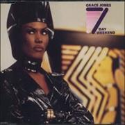 Click here for more info about 'Grace Jones - 7 Day Weekend'