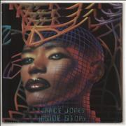 Click here for more info about 'Grace Jones - Inside Story - Promo stickered'