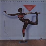 Click here for more info about 'Grace Jones - Island Life - Stickered'