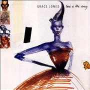 Click here for more info about 'Grace Jones - Love Is The Drug - Clear Vinyl + Poster Sleeve'