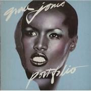Click here for more info about 'Grace Jones - Portfolio - Blue Label'
