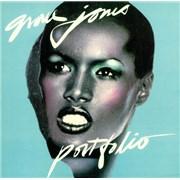 Click here for more info about 'Grace Jones - Portfolio - gatefold p/s'