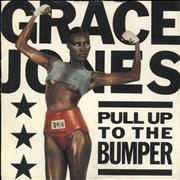 Click here for more info about 'Grace Jones - Pull Up To The Bumper - Single Sleeve'