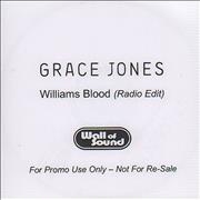 Click here for more info about 'Grace Jones - Williams Blood'