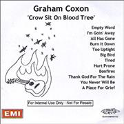 Click here for more info about 'Graham Coxon - Crow Sit On Blood Tree'