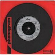 """Graham Gouldman Love's Not For Me UK 7"""" vinyl"""