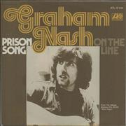"Graham Nash Prison Song Germany 7"" vinyl"