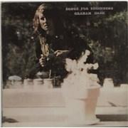Graham Nash Songs For Beginners - 1st - US Sleeve UK vinyl LP