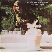 Click here for more info about 'Graham Nash - Songs For Beginners - 2nd + Insert'