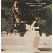 Graham Nash Songs For Beginners - EX UK vinyl LP
