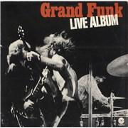 Click here for more info about 'Grand Funk Railroad - Live Album - VG'