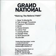 Click here for more info about 'Grand National - Kicking The National Habit'