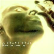 Click here for more info about 'Grand Oral - Love The Taste EP'
