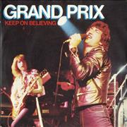 Click here for more info about 'Grand Prix - Keep On Believing - P/S'