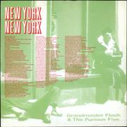 Click here for more info about 'Grandmaster Flash - New York, New York'