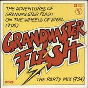 Click here for more info about 'The Adventures Of Grandmaster Flash On The Wheels Of Steel'