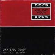 Click here for more info about 'Grateful Dead - Dick's Picks Volume Four: Fillmore East 2/13-14/70'
