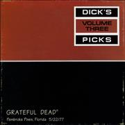 Click here for more info about 'Grateful Dead - Dick's Picks Volume Three: Pembroke Pines, Florida 5/22/77'