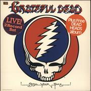 Click here for more info about 'Grateful Dead - Steal Your Face + For Dead Heads LP - Stickered'