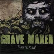Click here for more info about 'Grave Maker - Bury Me At Sea - Grey Vinyl'