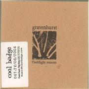 Click here for more info about 'Gravenhurst - Flashlight Seasons'