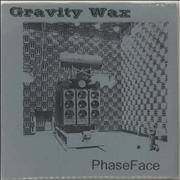 "Gravity Wax Phase Face UK 7"" vinyl"