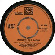 Click here for more info about 'Gravy Train - Strength Of A Dream'