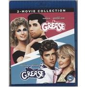 Grease Grease 1 & 2 UK Blu Ray