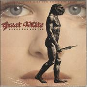 Click here for more info about 'Great White - Heart The Hunter - Clear Vinyl'