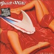 Click here for more info about 'Great White - ... Twice Shy - Stickered sleeve'