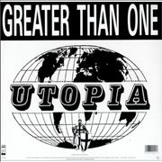 Click here for more info about 'Greater Than One - Utopia'