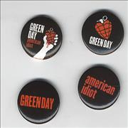 Click here for more info about 'Green Day - American Idiot Badge Set'
